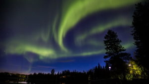 Auroras boreales en Kiruna