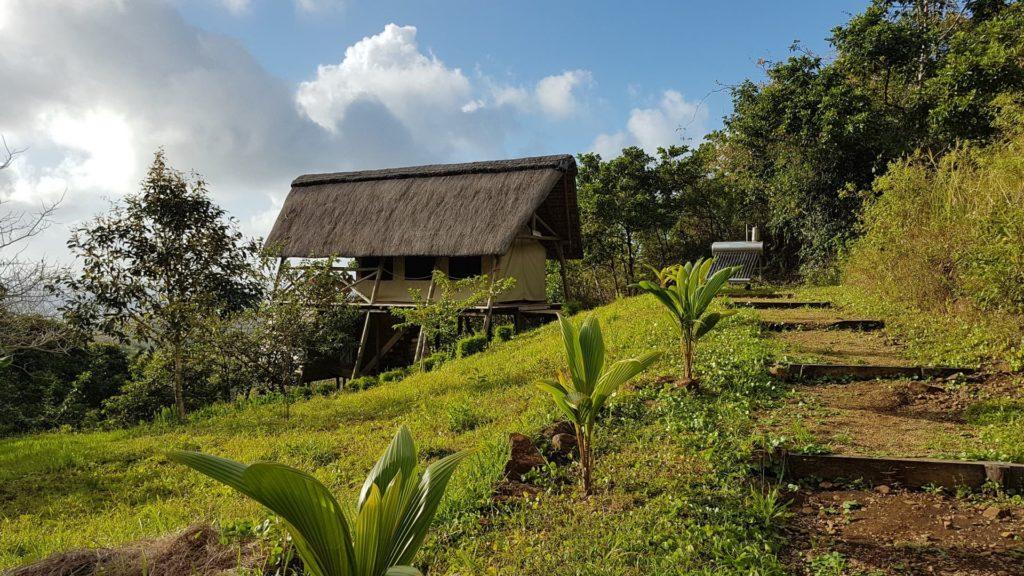 Ecolodge en las montañas de Mauricio