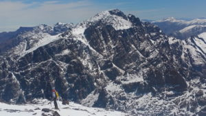 Cumbres del Atlas en Marruecos