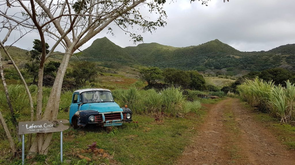 Visita a una granja de permacultura en Isla Mauricio